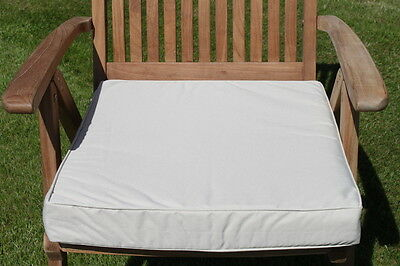 Garden Furniture Cushion - Armchair Pad for Large Garden Chair-in 7 colours
