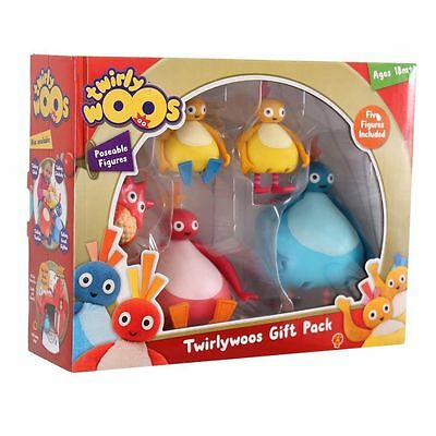 New Twirlywoos 5 Figure Poseable Gift Pack