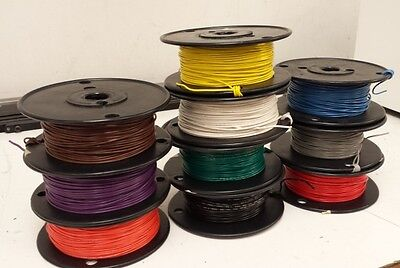 UL1015 22 awg 600 Volt hook up wire - 22 gauge - 1000 ft. Any Color!