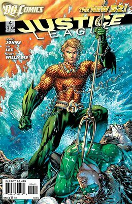 Justice League Issue 4 - Dc Comics New 52 - Geoff Johns Jim Lee