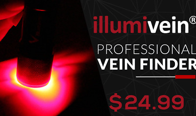 Illumivein -- Vein Finder / Transilluminator to Find Veins for Phlebotomy and IV