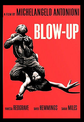 -A3-BLOW UP 1966 MOVIE Film Cinema wall Home Posters Print Art - #21