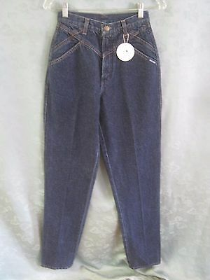 """Vintage Rockies High Waist Relaxed Western Jeans Size 5 / 6 NWT 36"""" Inseam"""