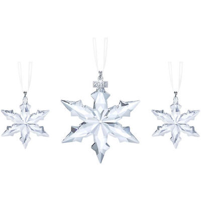 Swarovski Christmas  Set New 2015 # 5135889 - 1 dated large and 2 small
