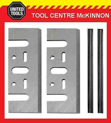 Tungsten Planer Blades Conversion Kit Replacement Blades + Holders - Suit Makita