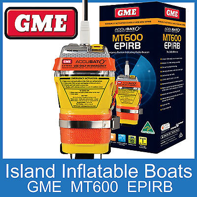 GME MT600 EPIRB 406 MHz - 10 Year Battery - FREE POSTAGE - GME EPIRB PLB Beacon