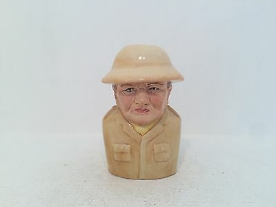 Manor Collectables British Prime Ministers Winston Churchill Toby Jug 451/1500