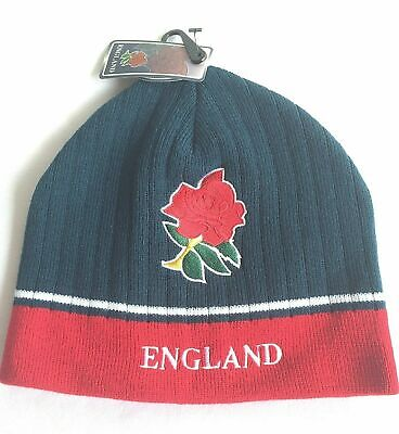 Mens Rugby World Cup 2015 Beanie Beany Woolly Hat Webb Ellis Cup England BNWT