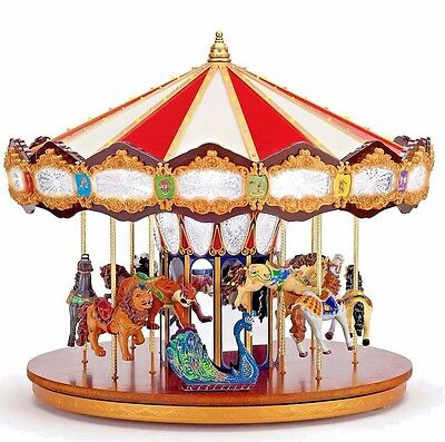 Mr Christmas World's Fair Grand Jubilee Carousel Mrc19751