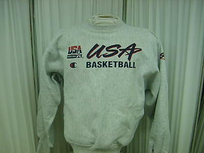 Authentic USA Basketball Champion Player Issued Sweatshirt Size- M