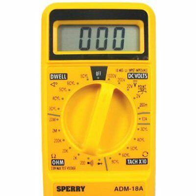 A.W. Sperry ADM-18A Automotive Tester Meter/Multimeter (New)