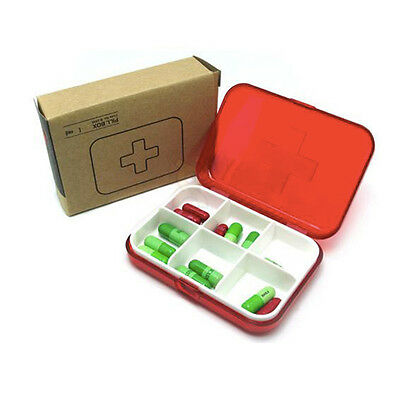 Portable Small Floral Pocket Metal Pill Case For Drugs Splitters Medicine Box