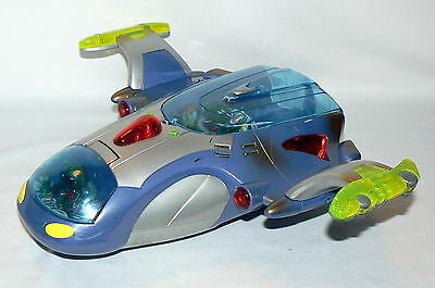 2000 Hap-P-Kid Smartronix Cool Space Ship Lights Up Sound Battery Toy - Touchy