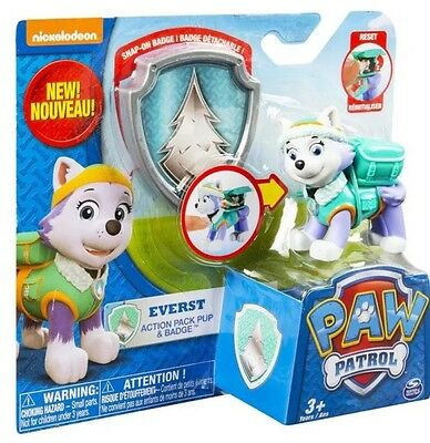 Paw Patrol Everest Badge GENUINE Action Pack Pup Nickelodeon Toy Boy Girl NEW!