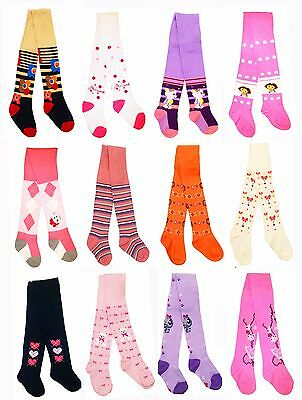 Baby Girl Tights Toddler Kid Cotton Knit Leg Warmers 1-2-3-4-6-8-10 years