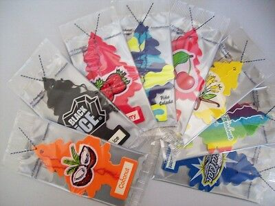 New 432 Little Trees Air Freshener Choose from 24 Flavours - Hanging Car & Home