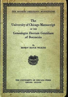 1927 University of Chicago MANUSCRIPT On the Genealogy of the Gods of Gentiles