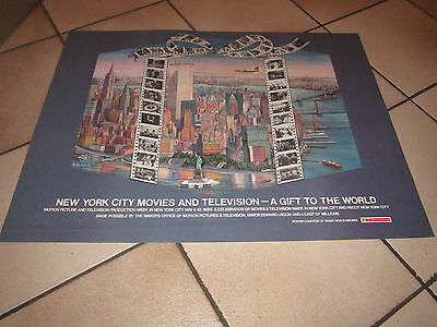 TWA trans world airlines,N.Y.CITY MOVIES & TELEVISION CELEBRATION 1980,MANIFESTO