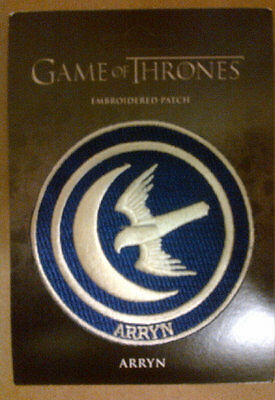 Game Of Thrones Embroidered Patch :Arryn 2015