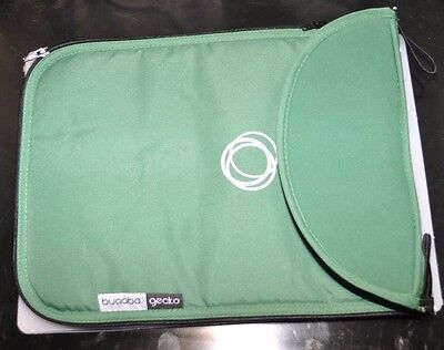 BUGABOO Gecko Stroller Carrycot Bassinet Apron Green Canvas Fabric NEW