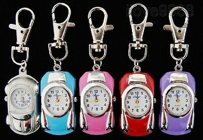 Hot sell Wholesale 10 pcs Car Design Key Ring quartz pocket Watches gifts USF5