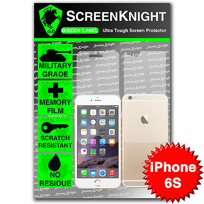 """ScreenKnight Apple iPhone 6S / 4.7"""" FULL BODY SCREEN PROTECTOR invisible shield"""