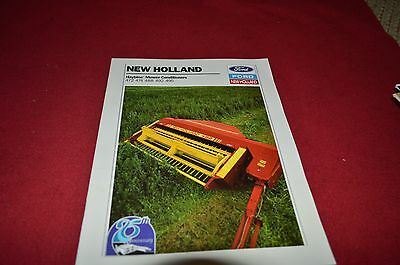 New Holland 472 474 488 492 495 Haybine Mower Conditione Dealers Brochure YABE4