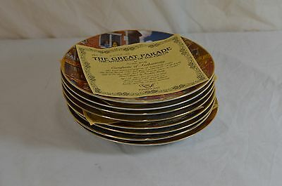 Franklin Moody Greatest Show  Earth Plate Collection Barnum & Bailey Circus 1981
