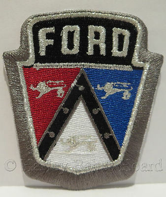 Embroidered Iron Or Sew On Cloth Patch ~ Ford Bonnet ~
