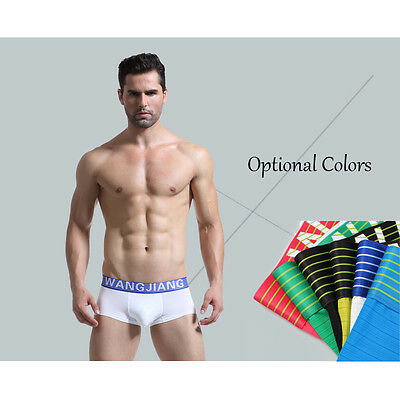 2016 Men's Sexy pouch Underwear Colorful Sports Tight Shorts Trunks Classical