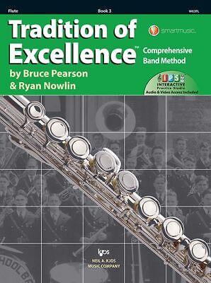 Tradition of Excellence Book 3 Flute Pearson/Nowlin W63FL NEW