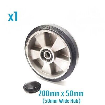 200/50 - 160mm rubber steer wheel for AC25 hand pallet truck