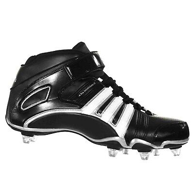 brand new 20cd3 d1179 Adidas PRO INTIMIDATE 2 D MID Mens Football Cleats Black Silver White 12.5 M