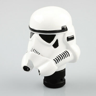 Universal Car Manual Gear Stick Shift Lever Knob Star Wars Clone Storm Trooper