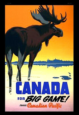 CANADA A3 vintage retro travel & railways posters art print Wall Decor #3