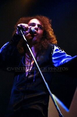 Ronnie James Dio Poster Photo Black Sabbath 12x18 Live '80s Concert Print 21