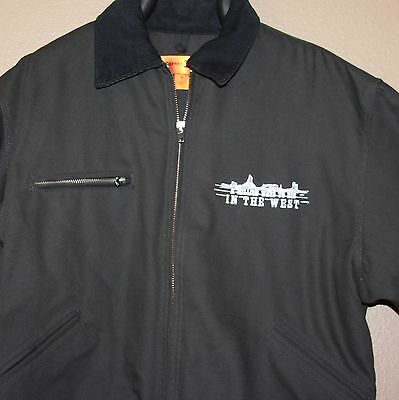 A Million Ways to Die in the West Seth MacFarlane Jacket Cast Crew NWT Gift