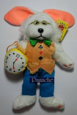 "Skansen Beanie Kid ""white Rabbit ( 3 Of 4 ) The Bear""  Mint With Mint Tag"