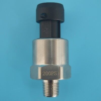 Excellent Stainless 200psi Pressure Transducer or Sender for Oil,air