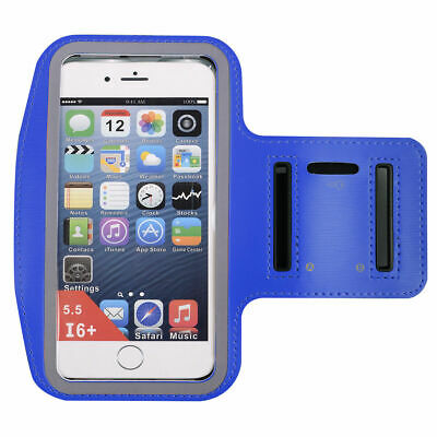 Bue Sports Running Jogging Gym Armband Case Cover Holder for iPhone 6 Plus