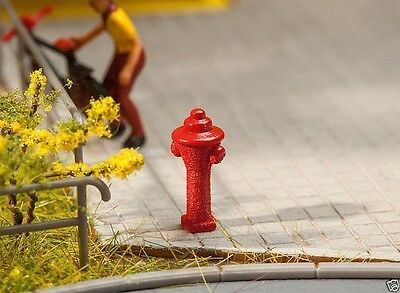 Faller H0 180912 10 Hydrants 1:87 suberb detail 1:87
