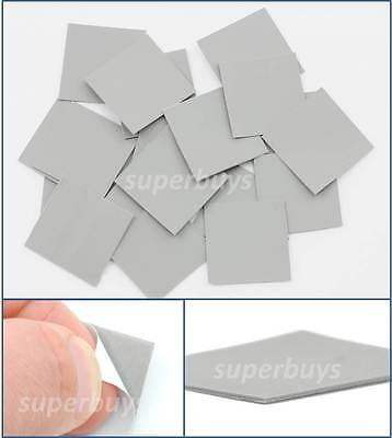 20pc 25 x 25mm Silicone Based Thermal Conductive Transfer Adhesive Tape Heatsink
