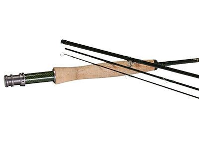 "TFO BVK 8'0"" 3Wt 4 Piece Fly Fishing Rod Lefty Kreh Series Free Rod Tube New"