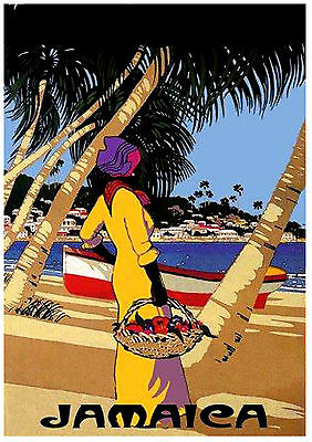 JAMAICA CUBA A3 vintage retro travel & railways posters art print Wall Decor #3