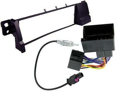 BMW 3 Series E46 Cabriolet 02 on Single Din Radio Fitting Facia Kit ISO Aerial