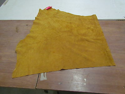 """37"""" X 30"""" Native American Dark Commercial Tanned Moose Hide, Soft"""