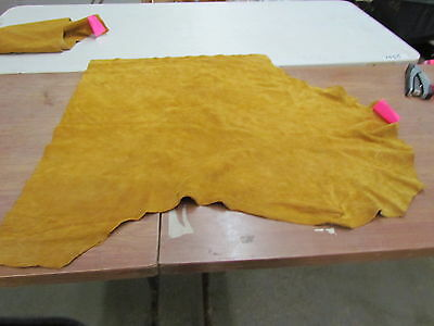"Moose Hide Native American Dark Commercial Tanned Hide Soft 33"" By 38"" Small"