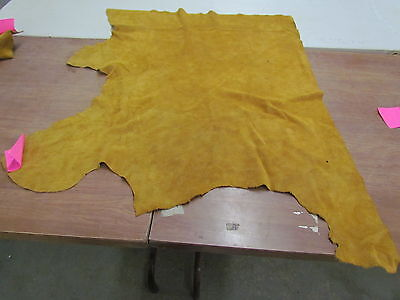 "Moose Hide Native American Dark Commercial Tanned Hide Soft 36"" By 43"" Small"