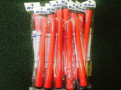 13 NEW IOMIC X-Grips RED/BLACK MADE IN JAPAN.