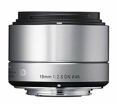 New Sigma 19 mm F2.8 Art DN for Sony Lens Silver E-Mount Japan